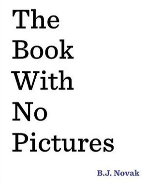 the book with no pictures Author B.J. Novak