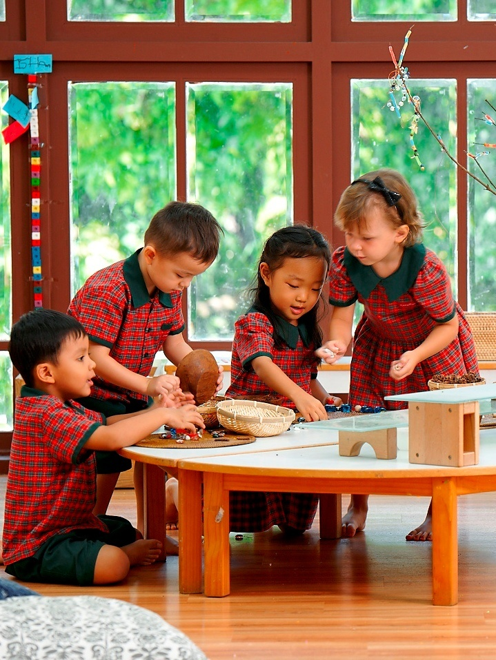 EtonHouse Blog - how do children learn mathematics through play