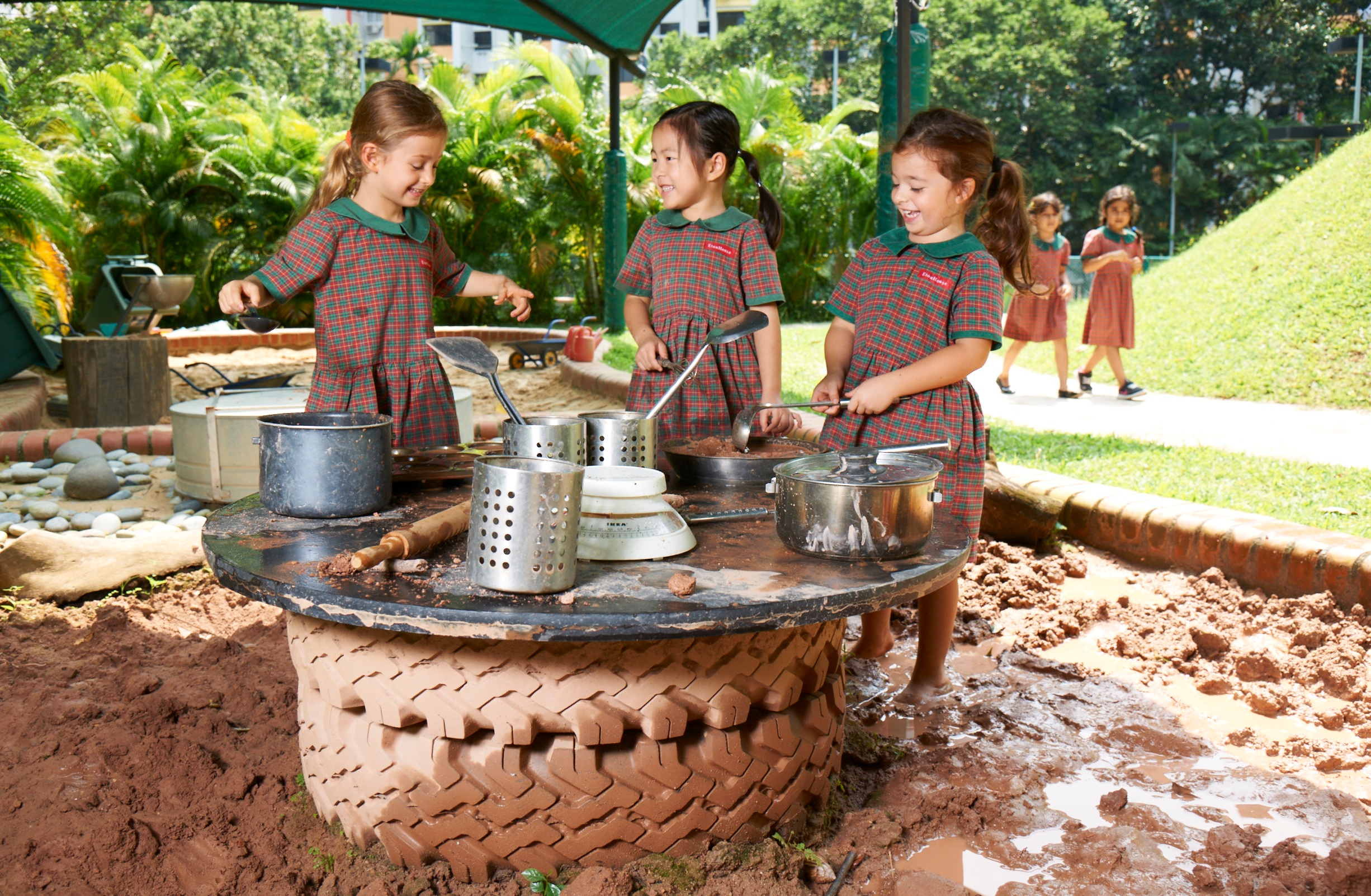 EtonHouse Blog - Outdoor learning is not just limited to physical development of children through gross motor play.