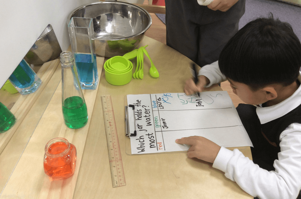 Use everyday inquiry experiences to develop children's literacy skills