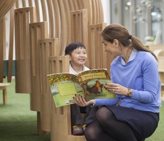 Nurture in children a genuine love for reading