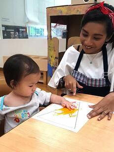 Nur Farhana, Educarer, E-Bridge Pre-School