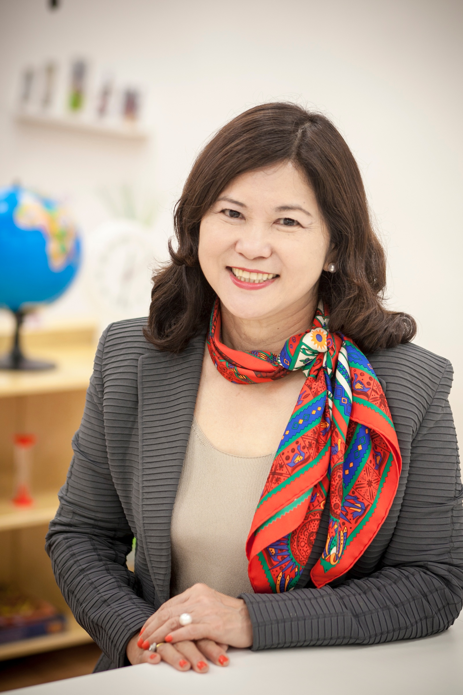 EtonHouse Founder Mrs Ng Gim Choo believes in a child-centred curriculum